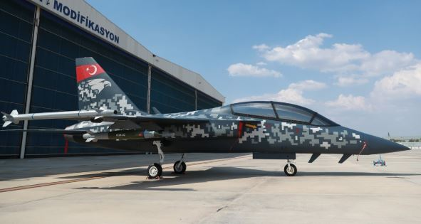 Turkey unveils new Hurjet light attack aircraft