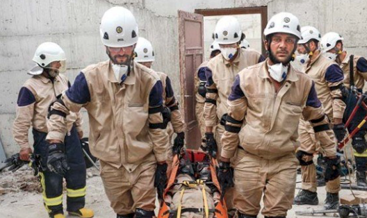 More than 400 White Helmets allowed entry into Jordan