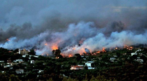 Greek fire death toll rises to 91