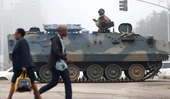 Zimbabwe government says troops to remain in capital