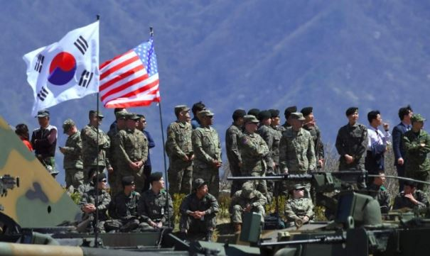 No talks with US over resuming military drills