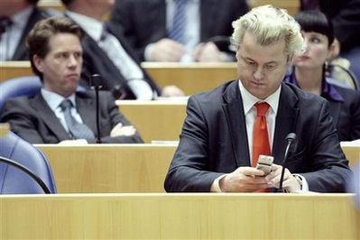 Dutch far-right party stumbles in European elections