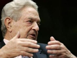 Soros urges giving Ukraine $50 billion of aid to foil Russia