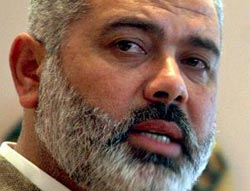 Gaza PM discusses relations with Fatah, Egypt