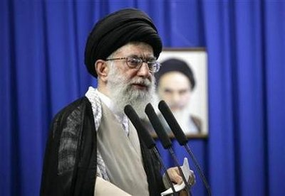 Iran's Khamenei rejects nuclear talks under threat
