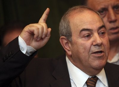 Iraq's Allawi endorses PM, says will help win over Sunnis