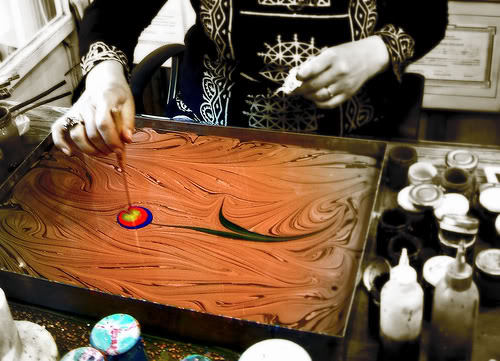 Turkish paper marbling included in UNESCO cultural list