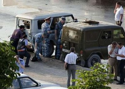 Suicide bomber kills four police in Chechnya