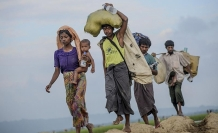 Over 4,500 displaced in Myanmar's Rakhine state