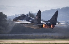 Fighter jet crashes in central Russia