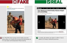 Pro-YPG/PKK social media accounts spread disinformation