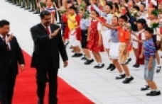 China puts weight behind Maduro of Venezuela