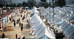 Winter conditions ara very difficult in Syrian camp