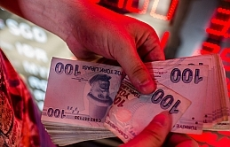 Turkish lira at best level against dollar in 2 months