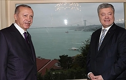 Turkish, Ukrainian presidents meet in Istanbul