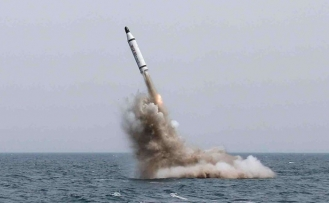 S. Korea launches its first missile-capable submarine