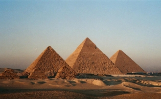 Here's how the pyramids were built in Egypt