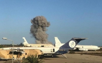 Libya: Airstrike hits Mitiga international airport