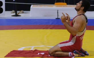 Turkish wrestler named world's best