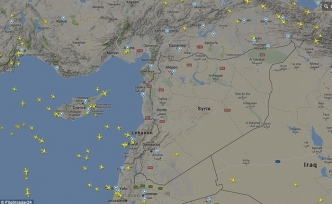 Syrian airspace engulfing entire region into war