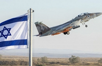 Israeli warplane strikes Gaza