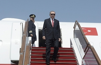 Erdogan arrives in Venezuela for talks