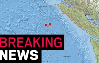 Two earthquakes strike off Canada's west coast