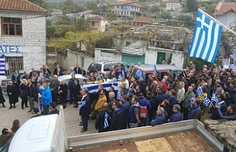 Crowds flock to funeral of ethnic Greek man slain in Albania