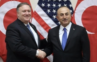 Turkish FM, US counterpart meet in US