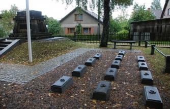 Prisoners of Pleven lies in the Turkish Martyrdom in Latvia