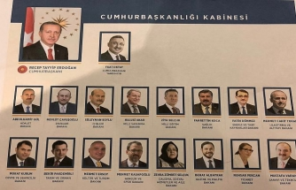 Turkish President Erdogan announces new cabinet
