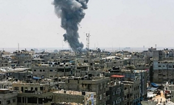 2 Palestinians killed during Israeli attack on Gaza