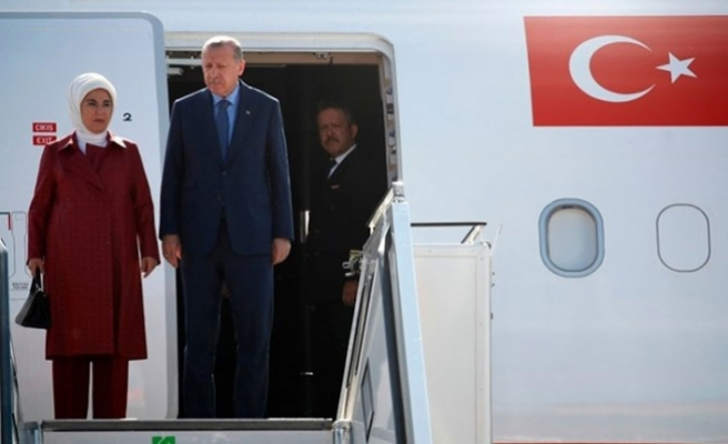 Erdogan arrives in Germany for official visit