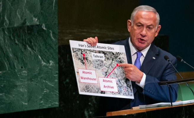 Iran refutes Israel's secret nuclear site claims
