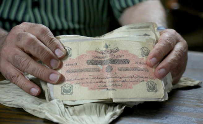 Ottoman money still kept safe after 103 year - History