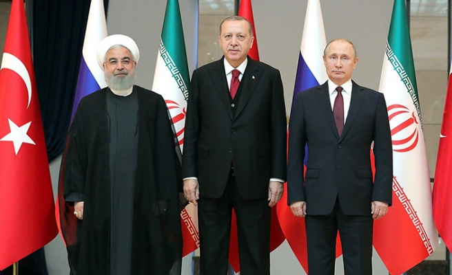 Turkish, Russian, Iranian FMs to meet in NY
