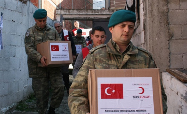 Turkish troops support education in Kosovo