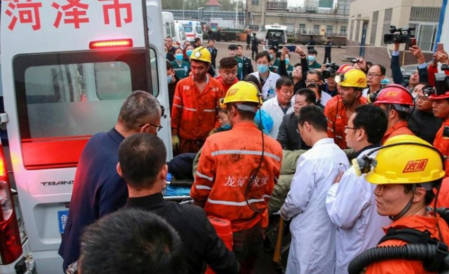21 dead in east China mining accident