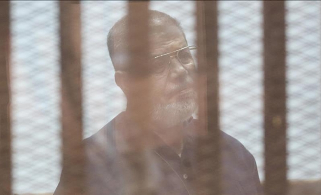 Son of Egypt's jailed ex-president detained from home