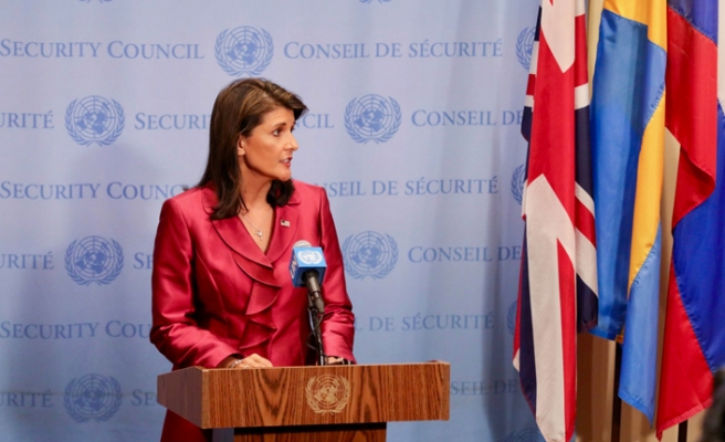 Nikki Haley resigns as Trump's UN ambassador