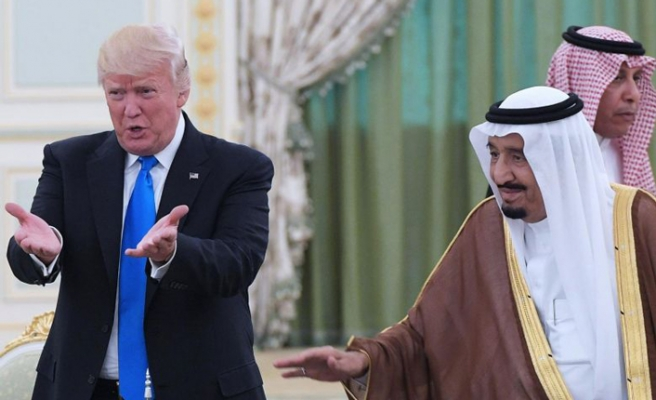 Trump thanks Saudi Arabia for low oil prices
