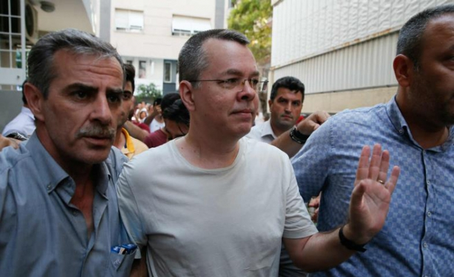 US pastor reaches home in western Turkey