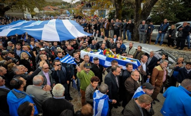 Albania bans 52 Greeks after 'extremism' at funeral