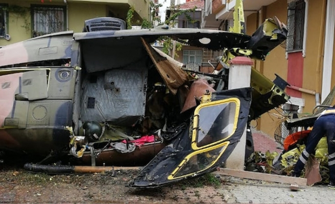Military helicopter crashes in Istanbul: 4 martyred