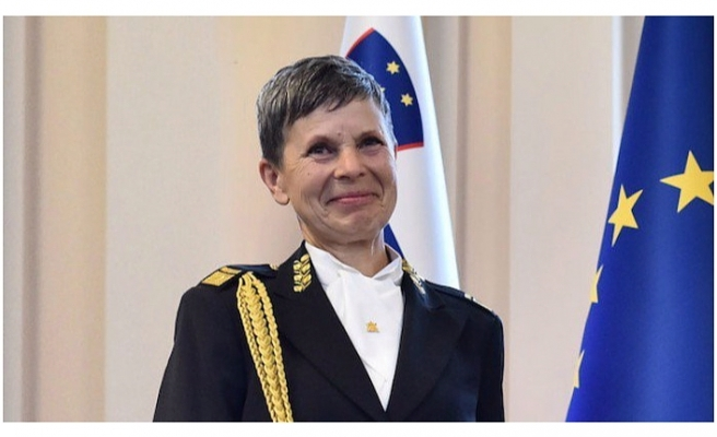 First female army chief appointed by Slovenia