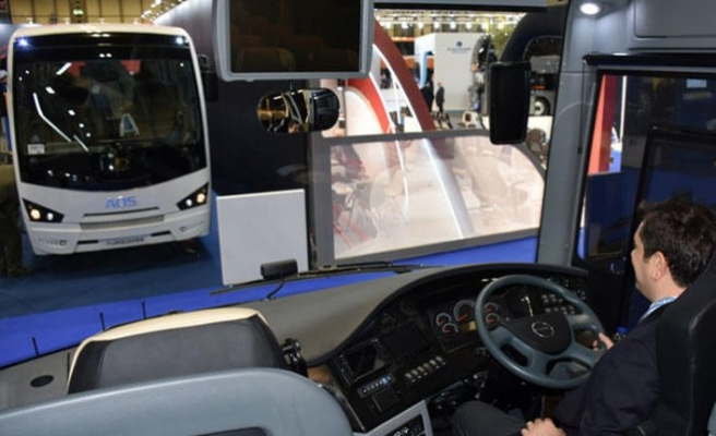 Turkey's right-hand-drive bus showcased in UK