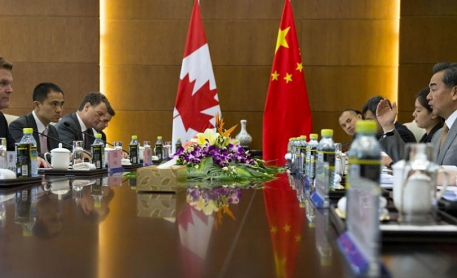 China probes Canadian on suspicion of 'harming' national security