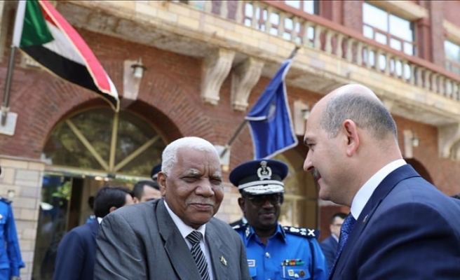 Turkey's interior minister praises relations with Sudan
