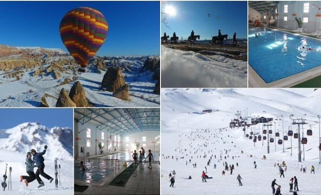 Hot trio of winter break: Cappadocia, Erciyes, Kozakli