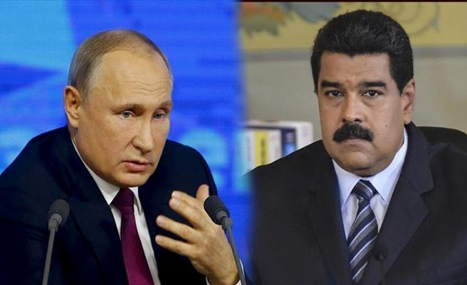 In phone call, Putin supports Venezuela's Maduro